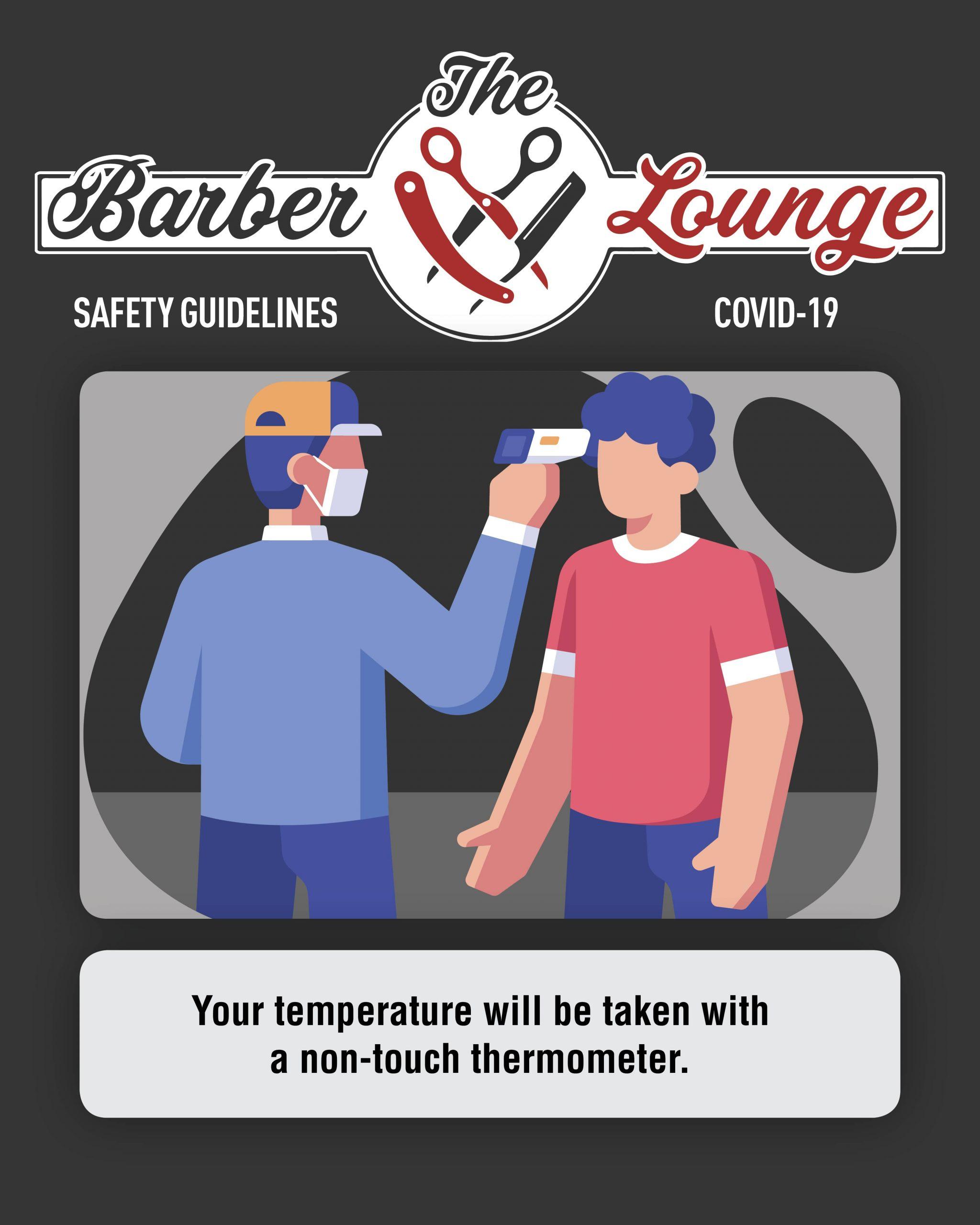 Temperature Check instagram post - Barber Lounge